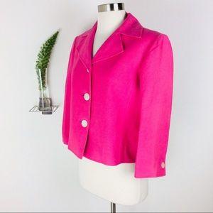 Lauren Ralph Lauren Cropped Linen Blazer Size (8)